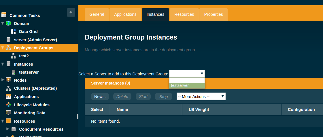 Add a Server to a Deployment Group