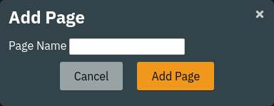 Add Page Dialog